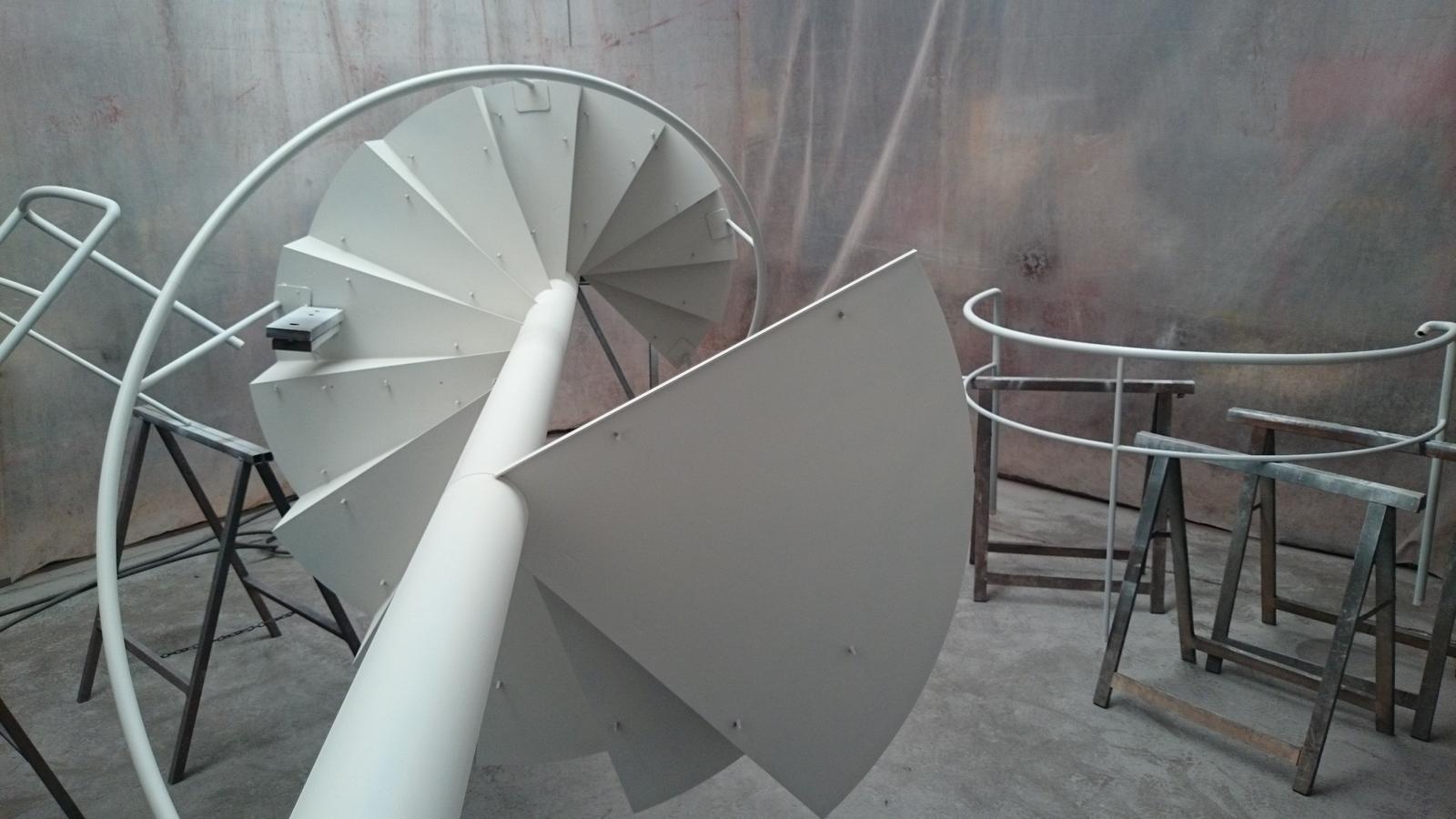 Escalera de caracol - Estructura caracol ...